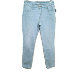Old Navy Super Skinny Jeans Womens Mid Rise 12